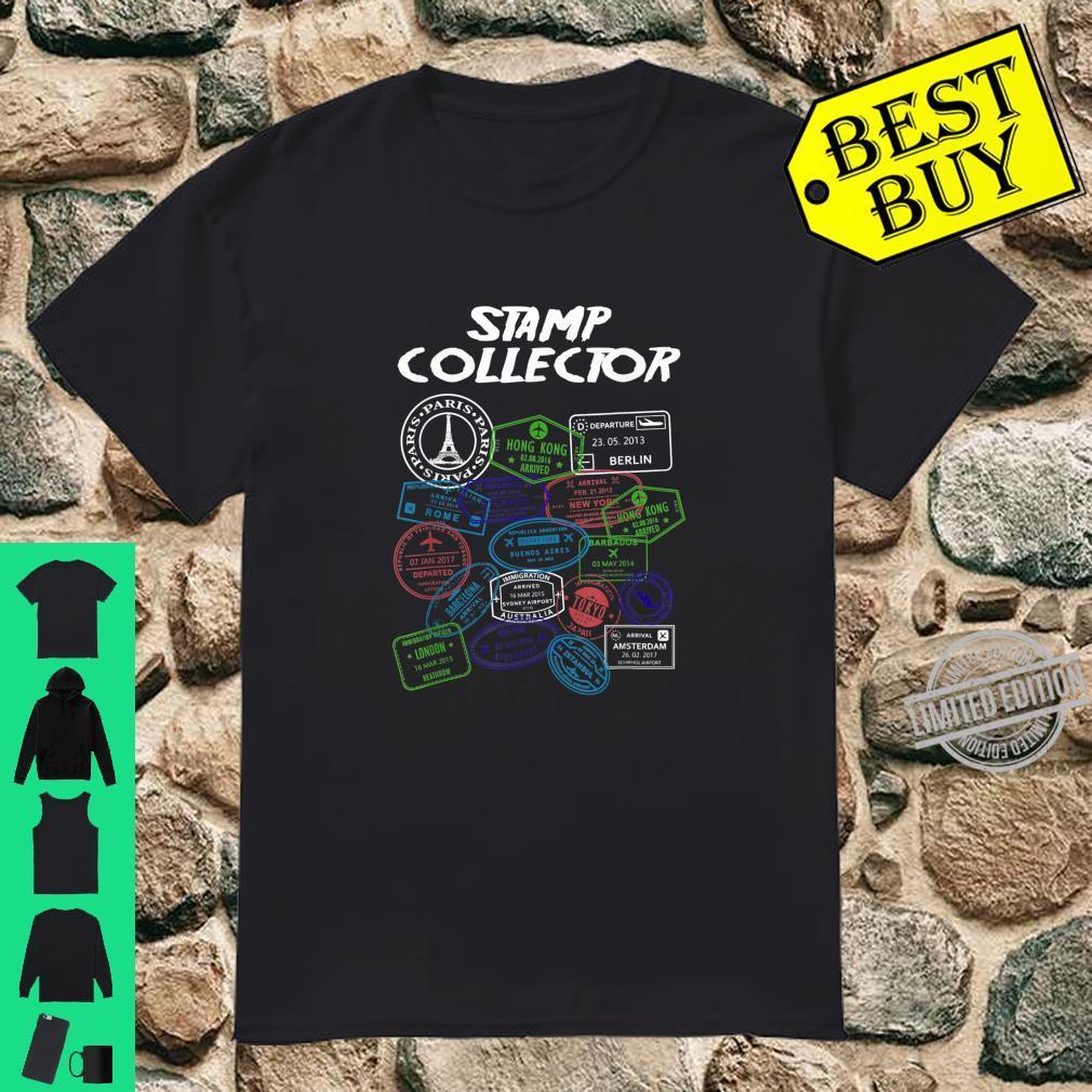 PassStempel Collector Wanderer und Abenteurer Shirt