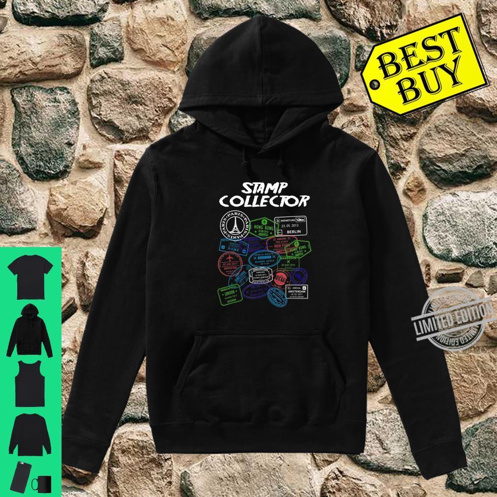PassStempel Collector Wanderer und Abenteurer Shirt hoodie