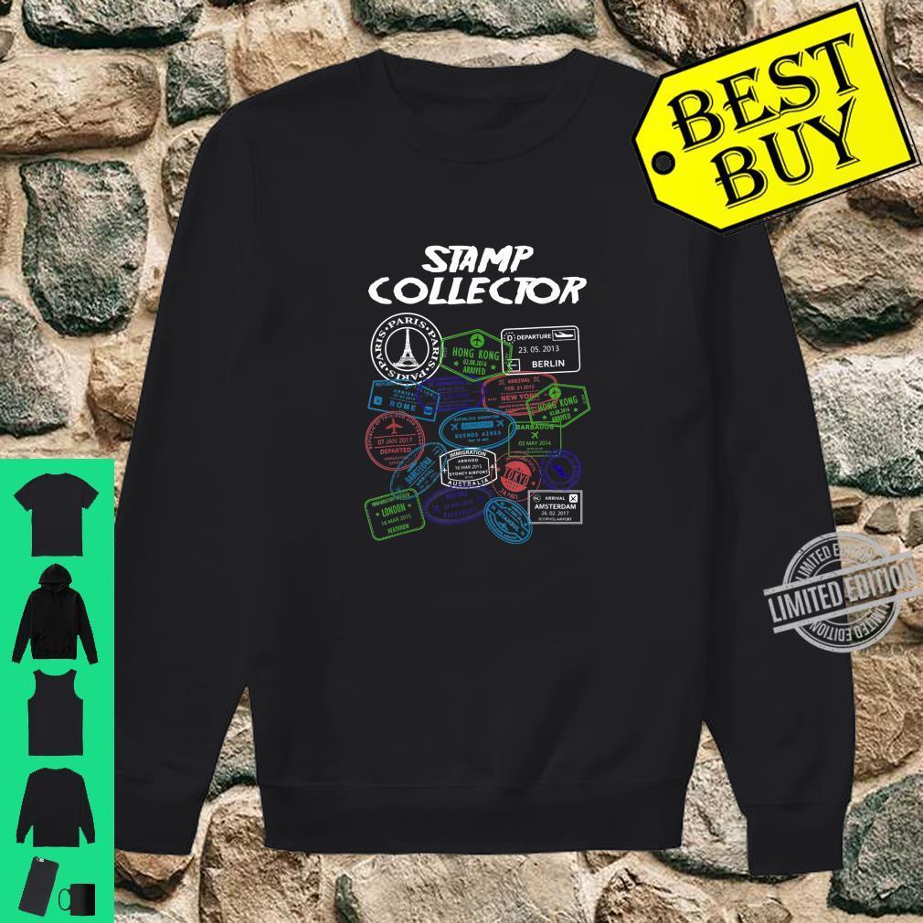 PassStempel Collector Wanderer und Abenteurer Shirt sweater