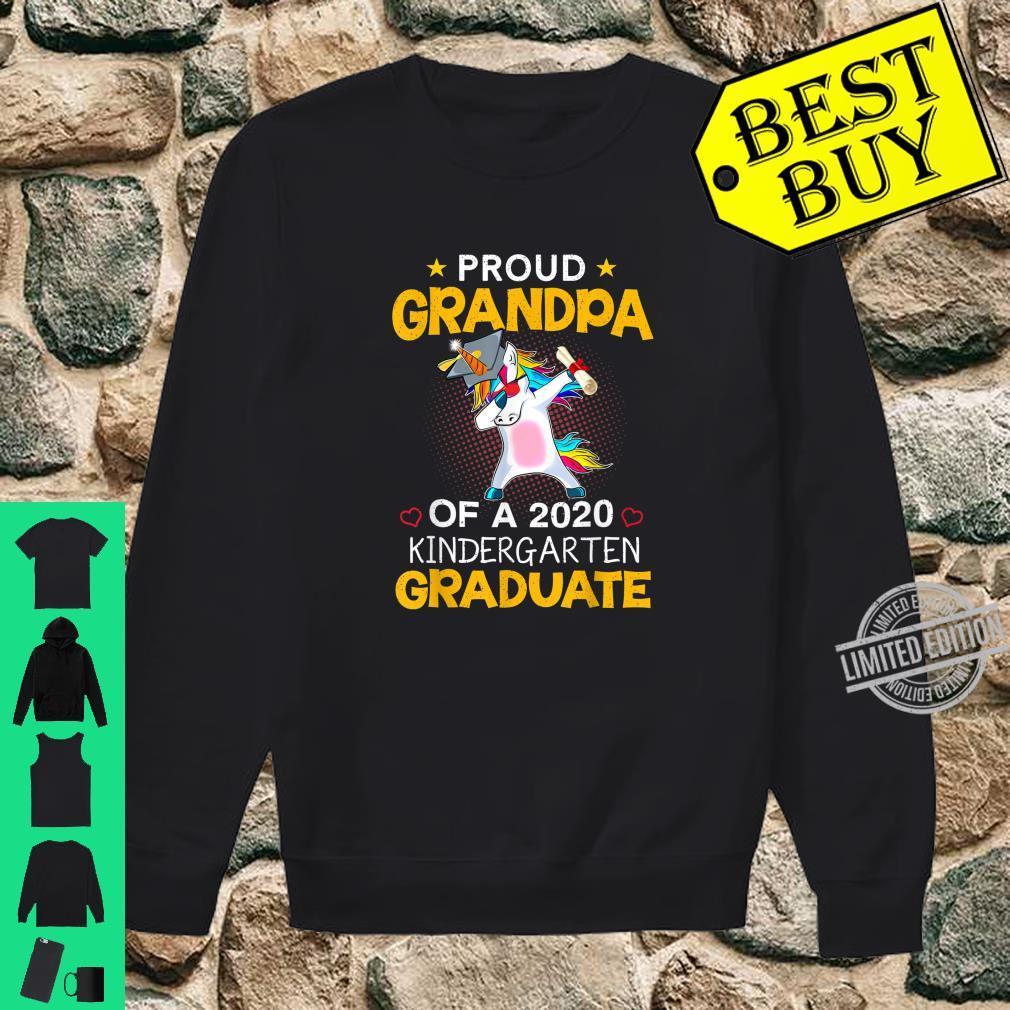 Proud Grandpa Of A 2020 Kindergarten Graduate Unicorn Dab Shirt sweater