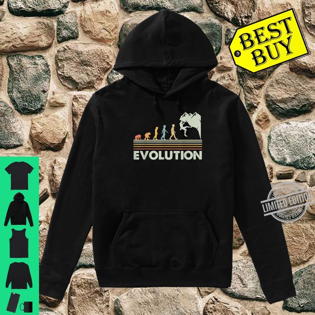 Rock Climbing Shirt Novelty Evolution Mountain Climbing Shirt hoodie